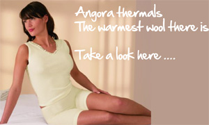 Angora and Lambs Wool underwear