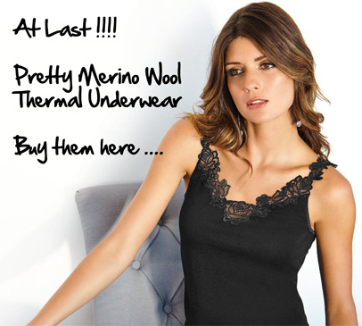 gorgeous merino wool and silk underwear
